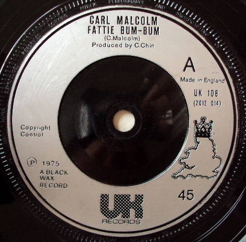 Carl Malcolm / Skin, Flesh & Bones - Fattie Bum-Bum / Bum-Bum Situation