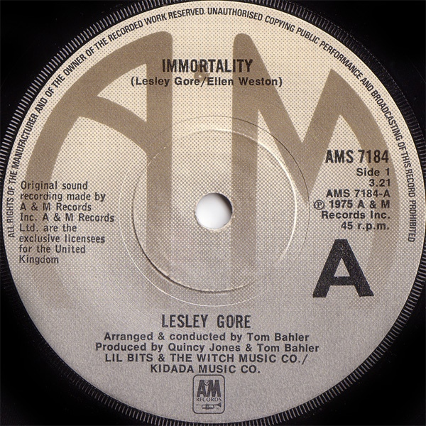 Lesley Gore - Immortality