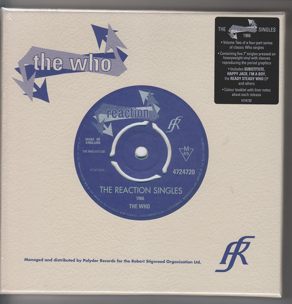 Who, The - The Reaction Singles 1966