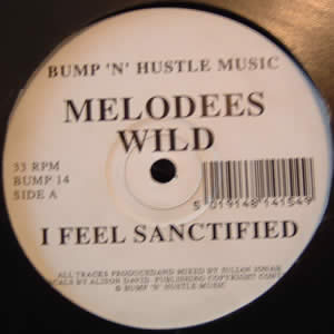 MELODEES WILD - I FEEL SANCTIFIED
