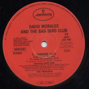 DAVID MORALES & THE BAD YARD CLUB - GIMME LUV