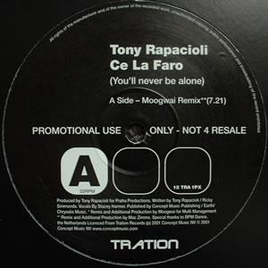 TONY RAPACIOLI - CE LA FARO (REMIXES)
