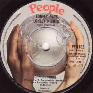 Don Downing - Lonely Days, Lonely Nights