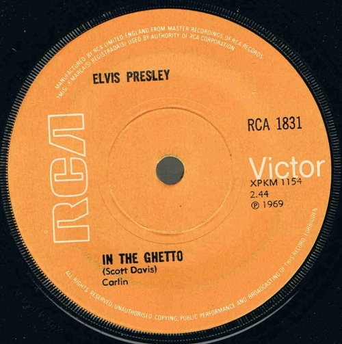 Elvis Presley - In The Ghetto