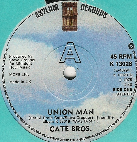Cate Bros. - Union Man / Easy Way Out