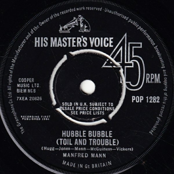 Manfred Mann - Hubble Bubble (Toil And Trouble)