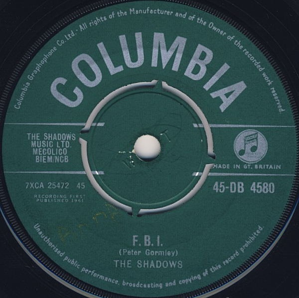 Shadows, The - F. B. I.