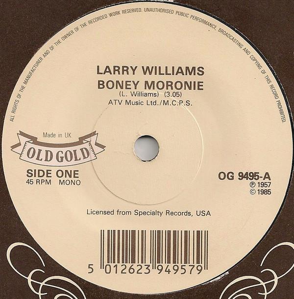 Larry Williams - Boney Moronie