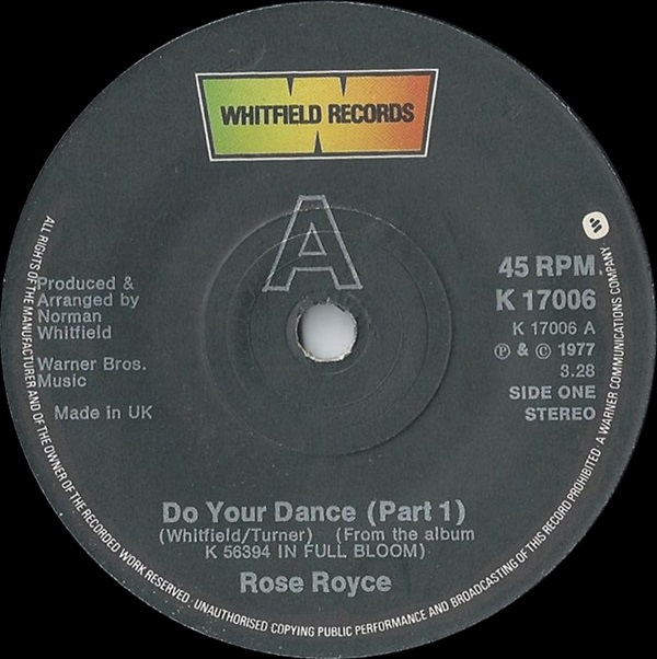 Rose Royce - Do Your Dance