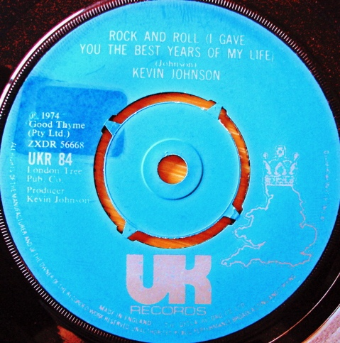 Kevin Johnson - Rock And Roll (I Gave You The Best Years Of My Lif