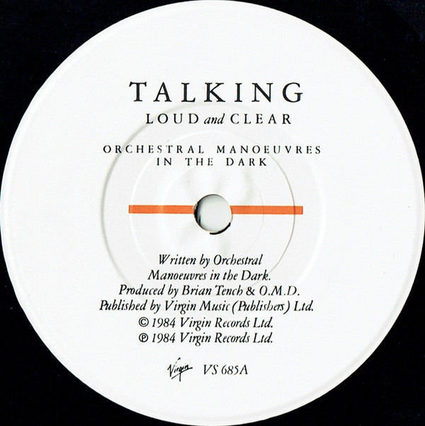 Orchestral Manoeuvres In The Dark - Talking Loud And Clear