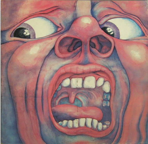 King Crimson - In The Court Of The Crimson King (Pink Rim)