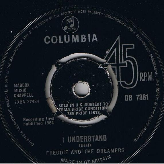 Freddie And The Dreamers - I Understand