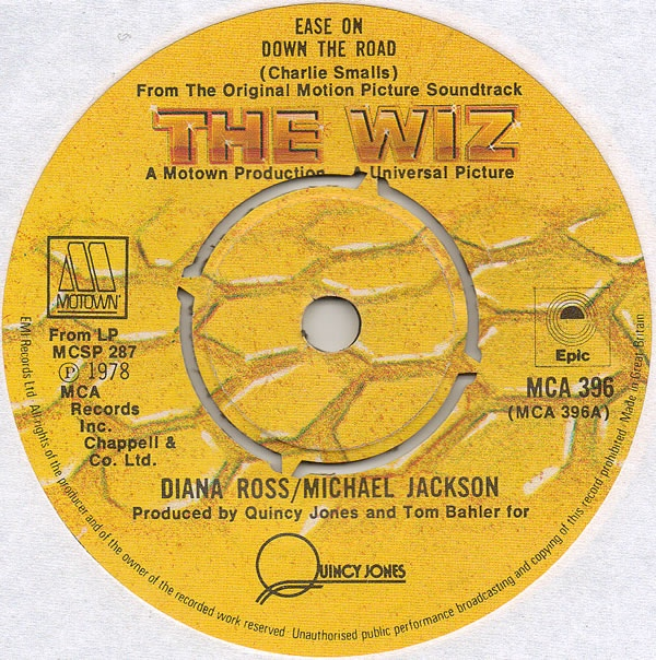 Diana Ross / Michael Jackson - Ease On Down The Road