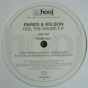 PARKS AND WILSON - FEEL THE DRUMS E.P (DISC 1)