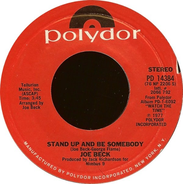 Joe Beck ? - Stand Up And Be Somebody / Dr. Lee