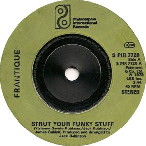 Frantique - Strut Your Funky Stuff