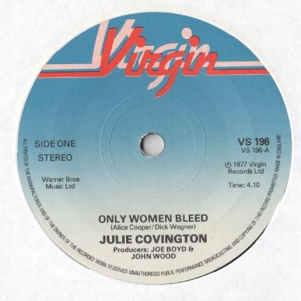 Julie Covington - Only Women Bleed