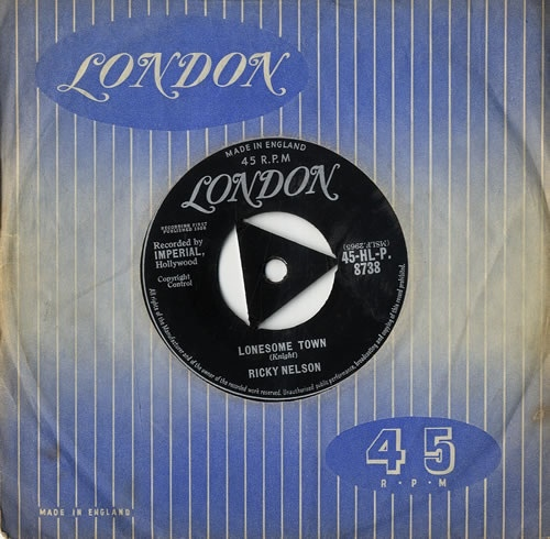 Ricky Nelson - Lonesome Town / My Babe
