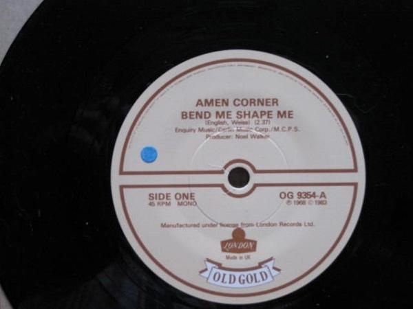 Amen Corner - Bend Me Shape Me