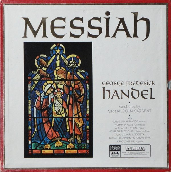 George Frederick Handel, Sir Malcolm Sargent - Messiah