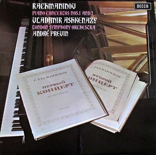 Rachmaninov, Vladimir Ashkenazy, LSO -  Piano Concertos Nos.1 And 2