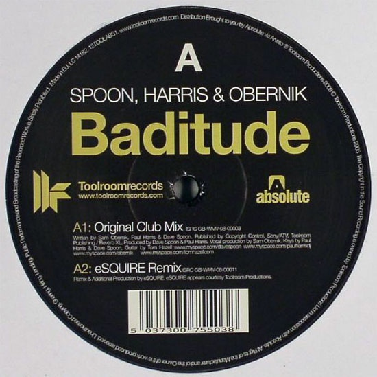Spoon, Harris & Obernik - Baditude