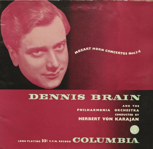 Mozart - Dennis Brain Philharmonia Orch -Karajan - Horn Concertos Nos. 1-4