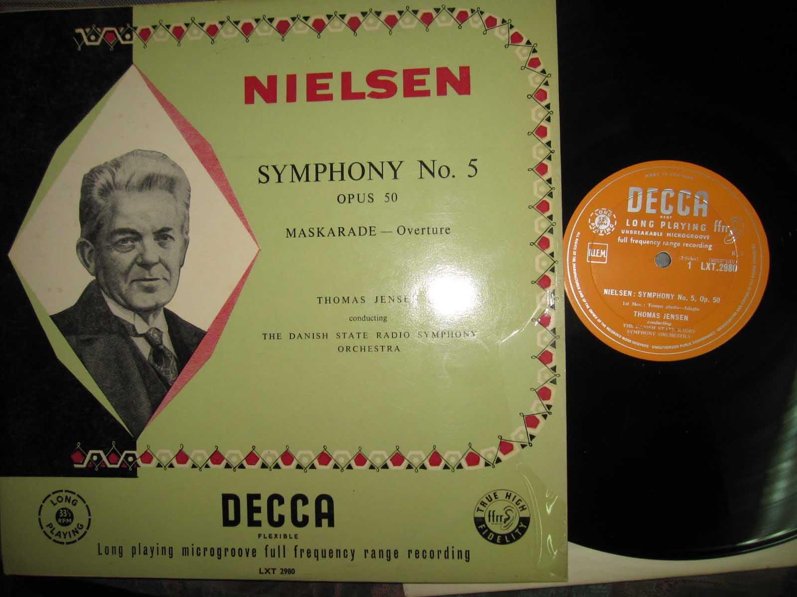 NIELSEN - THOMAS JENSEN - Symphony no. 5 Maskarade Overture