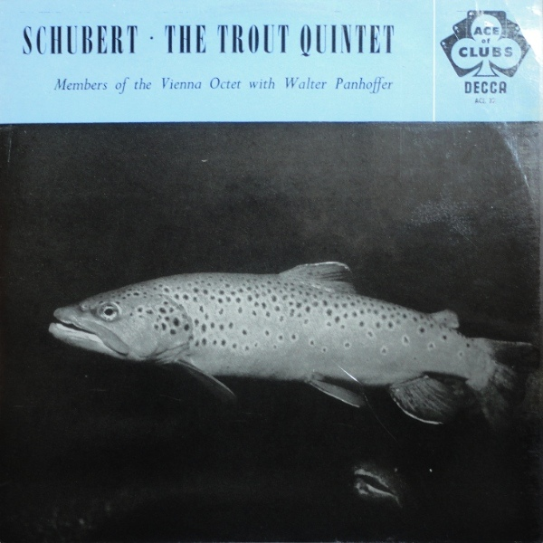 Schubert  Vienna Octet-  Walter Panhoffer -  The Trout Quintet