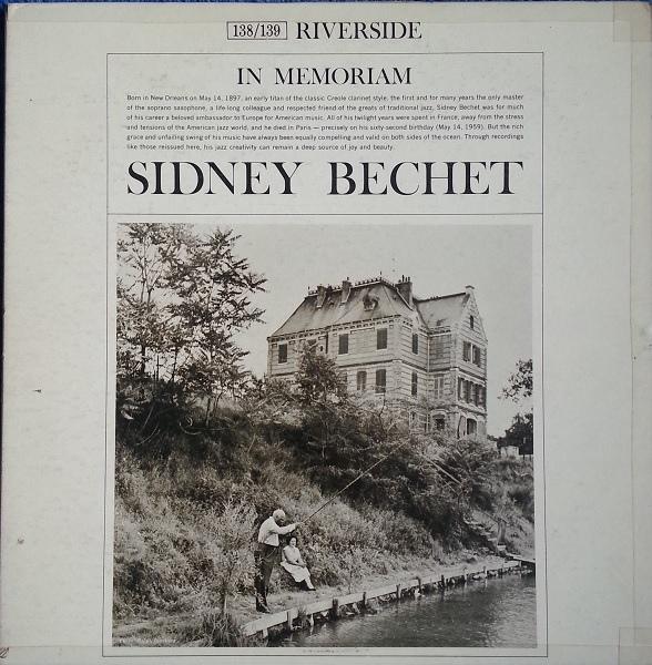 SIDNEY BECHET - In Memoriam - 33T