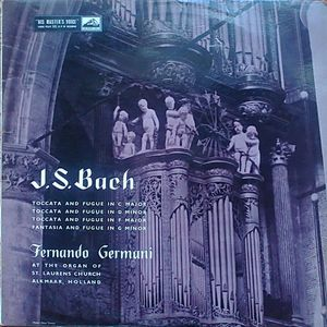 J.S.Bach - Fernando Germani - Toccata And Fuge In C Major, D Minor, F Major