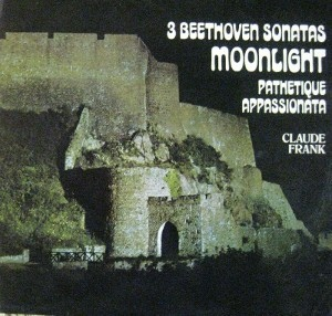 Beethoven - Claude Frank - 3 Beethoven Sonatas: Moonlight / Pathetique