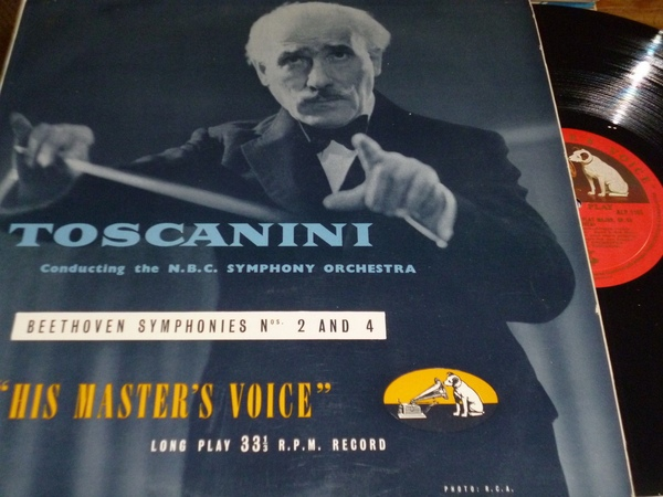 Beethoven, Toscanini, NBC Symphony Orchestra - Symphonies Nos. 2 And 4