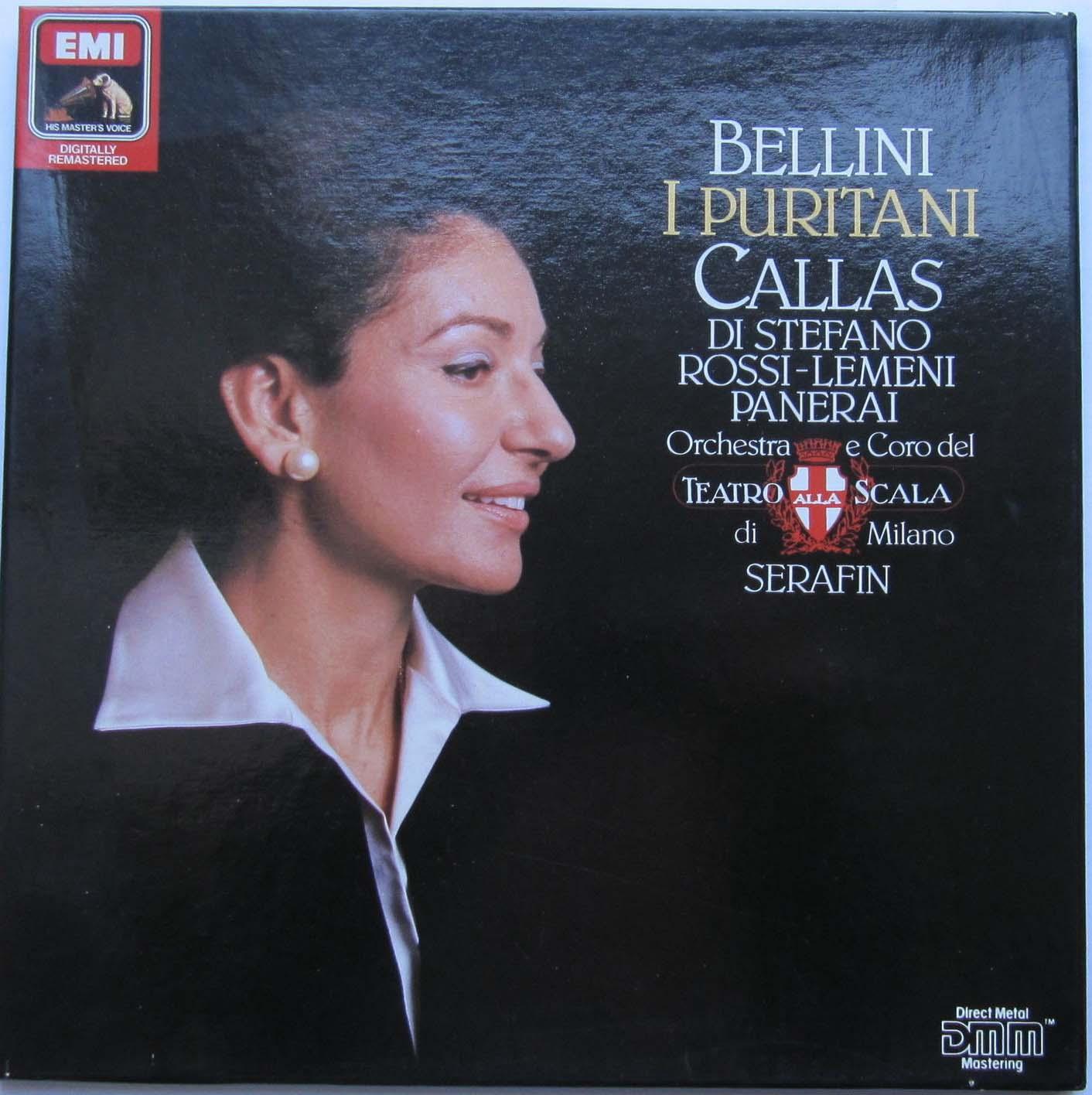 Bellini -Callas / Di Stefano / Rossi-Lemeni -  Puritani