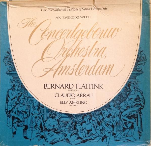Bernard Haitink - Ein Konzertabend Mit Dem Concertgebouw Orch.