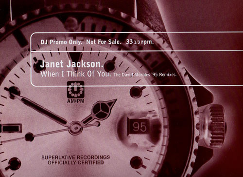 Janet Jackson - When I Think Of You (David Morales Remixes)