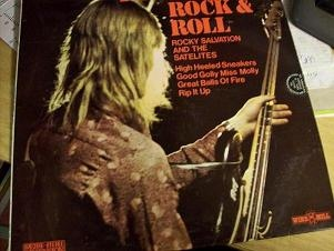 Rocky Salvation And The Satelites - The Fire Of Rock & Roll