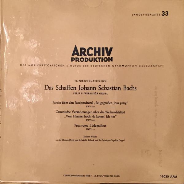 Johann Sebastian Bach? - Werke F?r Orgel, BWV 768, 769, 733