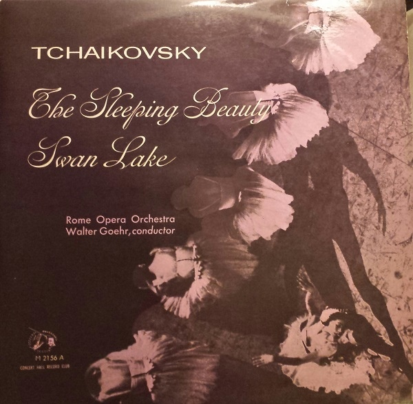 Tschaikovsky - Walter Goehr - Rome Opera Orch. - Swan Lake / The Sleeping Beauty