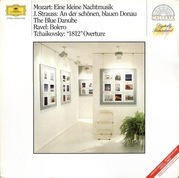 Mozart, J. Strauss, Ravel, Tchaikovsky - Blue Danube / Bolero /