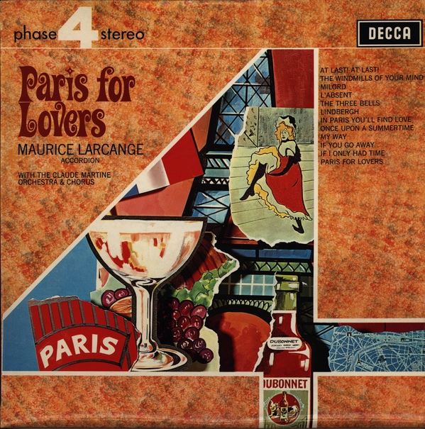 Maurice Larcange - Paris For Lovers