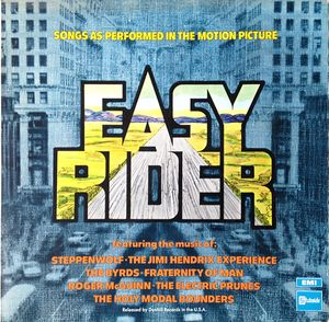 Various - Easy Rider (As Performed In The Motion Picture)