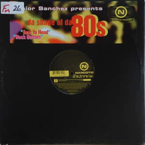 JUNIOR SANCHEZ presents - DA SHAPE OF DA 80s