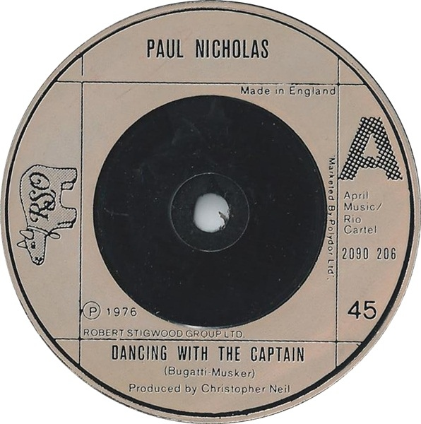 Paul Nicholas - Dancing With The Captain