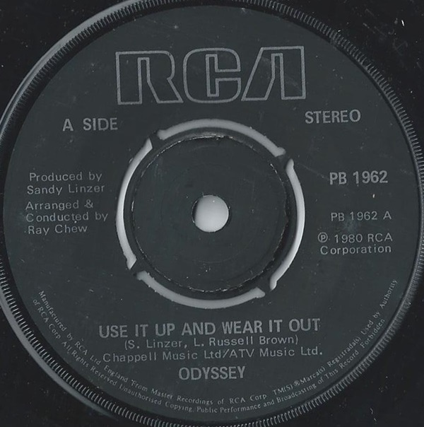 Odyssey - Use It Up And Wear It Out