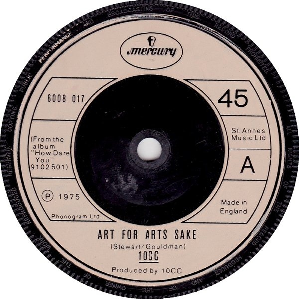 10CC - Art For Arts Sake