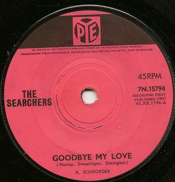 The Searchers - Goodbye My Love