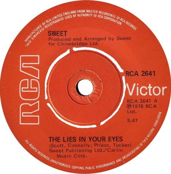 Sweet - The Lies In Your Eyes