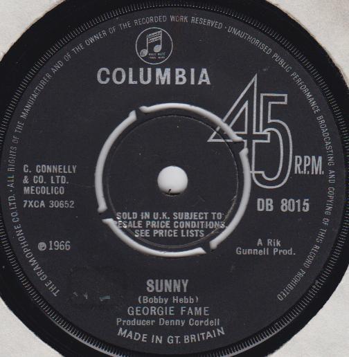 Georgie Fame - Sunny